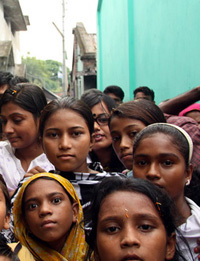 نساء من بنجلاديش